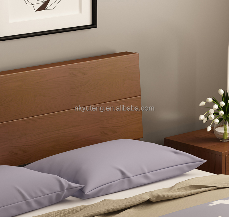 Furnitures of House modern popular bedroom bed with wooden frame