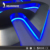 Fabrikant custom geborsteld oppervlak effect 304 rvs led backlit logo