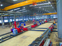 Pipe Fabrication Production Line for High Voltage Iron Tower Industries