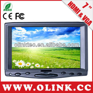 Support 10-point touch 7 inch hdmi monitor with touch