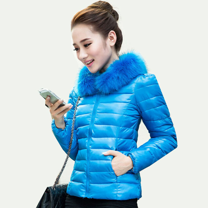 casaco feminino inverno 2014 Parkas faux fur winter coat women down jacket overcoat Clothing coat Duck down-jacket plus size