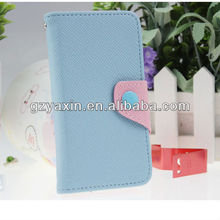 Wallet Leather Flip Case Cover for Samsung i8190 Galaxy S3 mini,Slim Armor Case for Samsung S3 mini