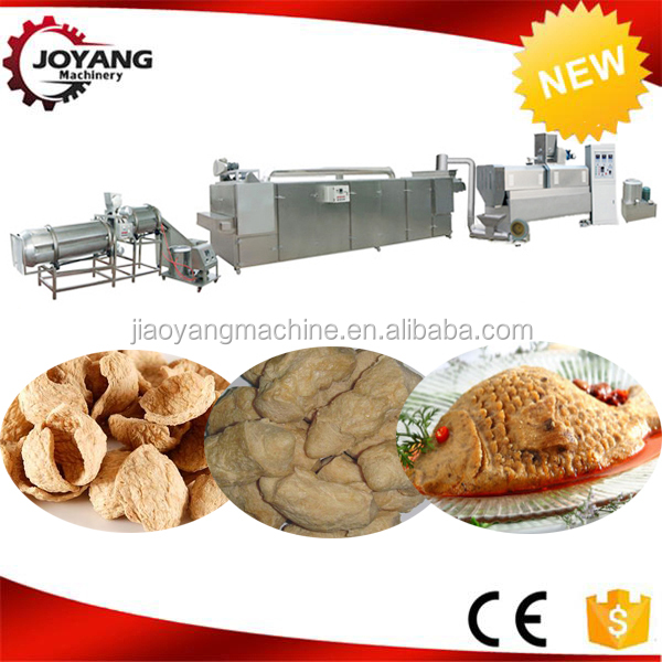 Hot Selling New Products Soya Nugget Machine Processing Line
