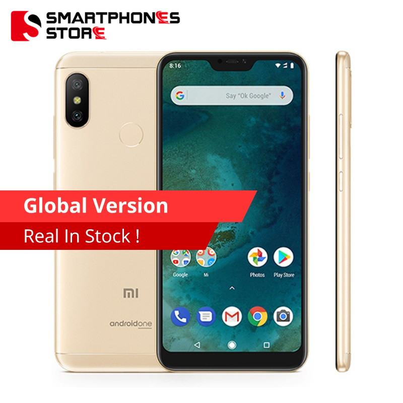 Global Version Xiaomi Mi A2 Lite 3GB RAM 32GB ROM MobilePhone Snapdragon 625 Octa Core 5.84' 19:9 Full Screen Dual AI Camera