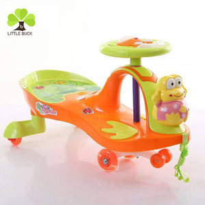 New PP Plastic Hot Sale Original baby swing car / Easy roller toys children swing car / ride on toys kids wiggle car cheap