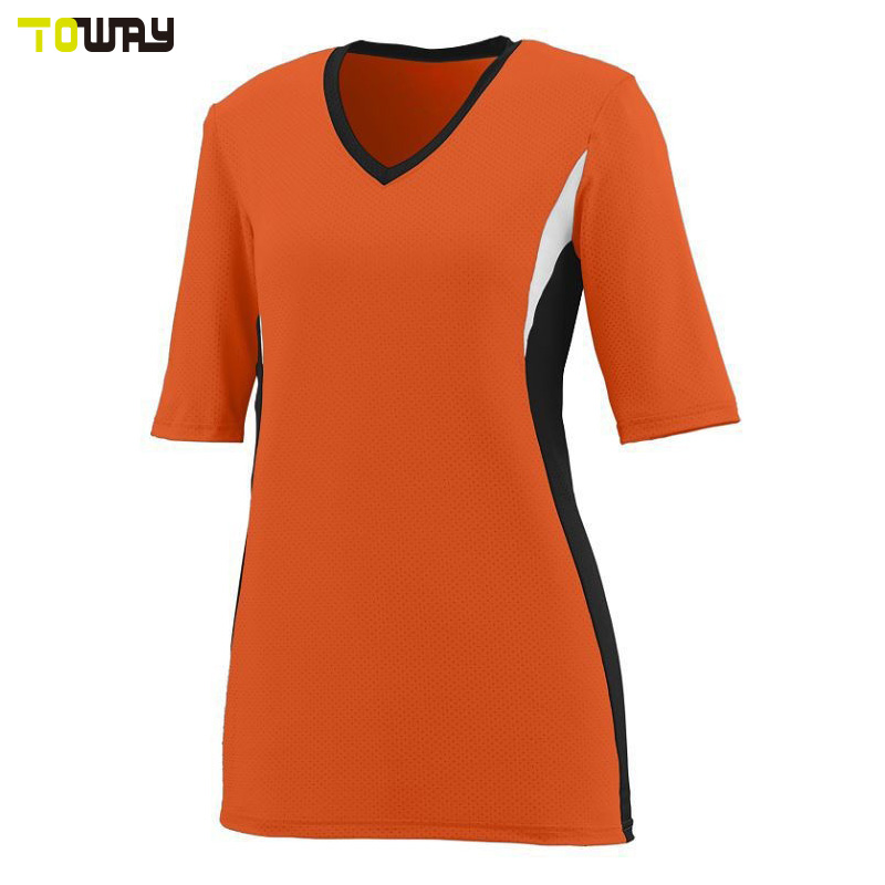 sublimation design volleyball jersey for men