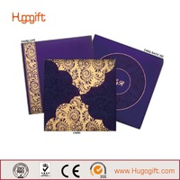 Good Quality Oem Garden Style Wedding Card