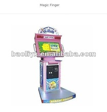 magic finger touch screen game machine