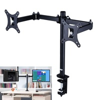 Simple Style 180 Degree Swivel 10 - 30 TV Size Universal Standing Desk Monitor Arm Mount