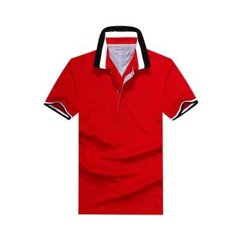 9d211025d Dos Homens Camisa Pólo Masculina De Manga Curta T-shirt