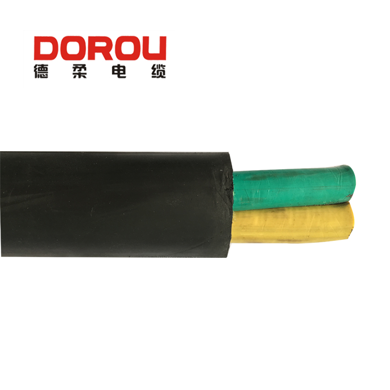 low voltage wear resistant 2.5 sqmm electric rubber cable