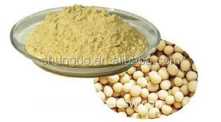 Pure natural extracts from soybean Soybean isoflavones 40% soy saponins 80%
