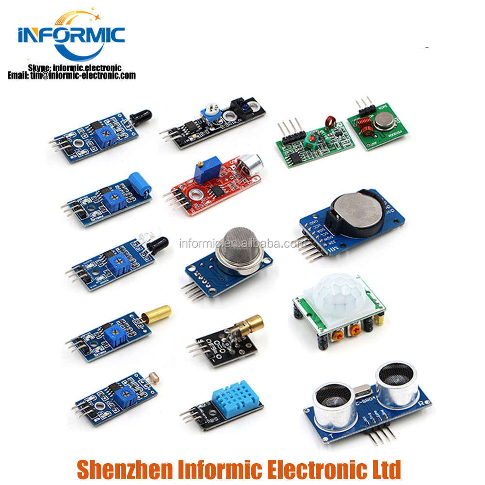 Ultrasonic Photosensitive Resistance Sound 16 Sensors For Raspberry Pi 2 3  B+ - Buy Electrical Resistance Sensor Product on Alibaba com