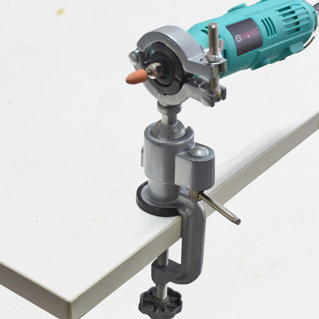 Pince pour meuleuse Titulaire Bench Étau Perceuse électrique Support Pour Puissance Outil Rotatif