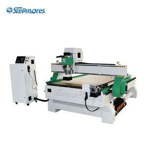 4 axis linear atc cnc router with rotary axis 1325 1530