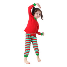 Warmer Clothes Cute Red & Green Cotton Baby Inner Clothing Set