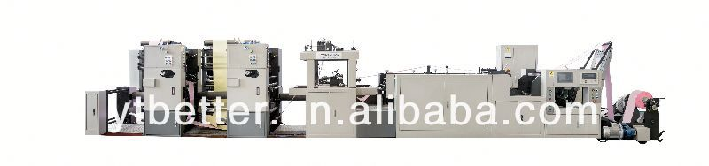 JB460LZ-CD Commercial bills rotary automatic computer combination gravure printing machine