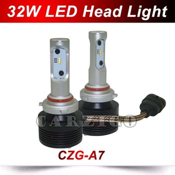 Czg-a7 Led Headlight Bulbs H1/h3/h7/h8/h9/h11/9005(hb3)/9006(hb4)/9012,H4  64w 4800lm Led Headlight Kit 6000k Led Head Light - Buy Led Headlight