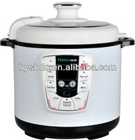 Industrial Automatic Electric Pressure Cookers White Color
