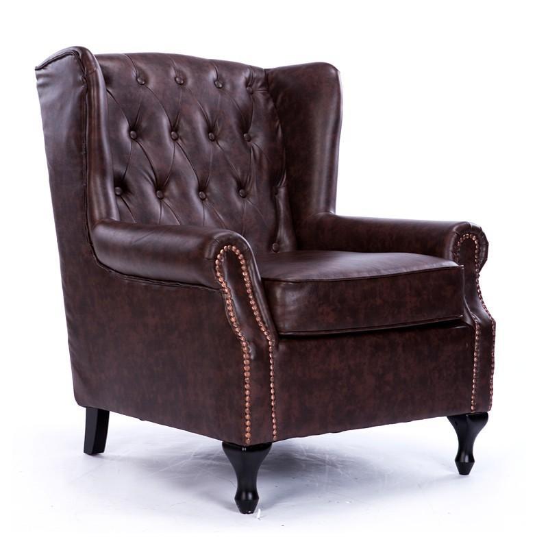Pleasing Buy New Classical European American Leather Sofa Chair Creativecarmelina Interior Chair Design Creativecarmelinacom