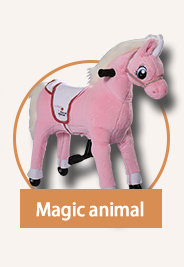 Ride on animal toy manufacturer in Dalian, Saddle-less ride on animal toy for frequently use at shopping mall