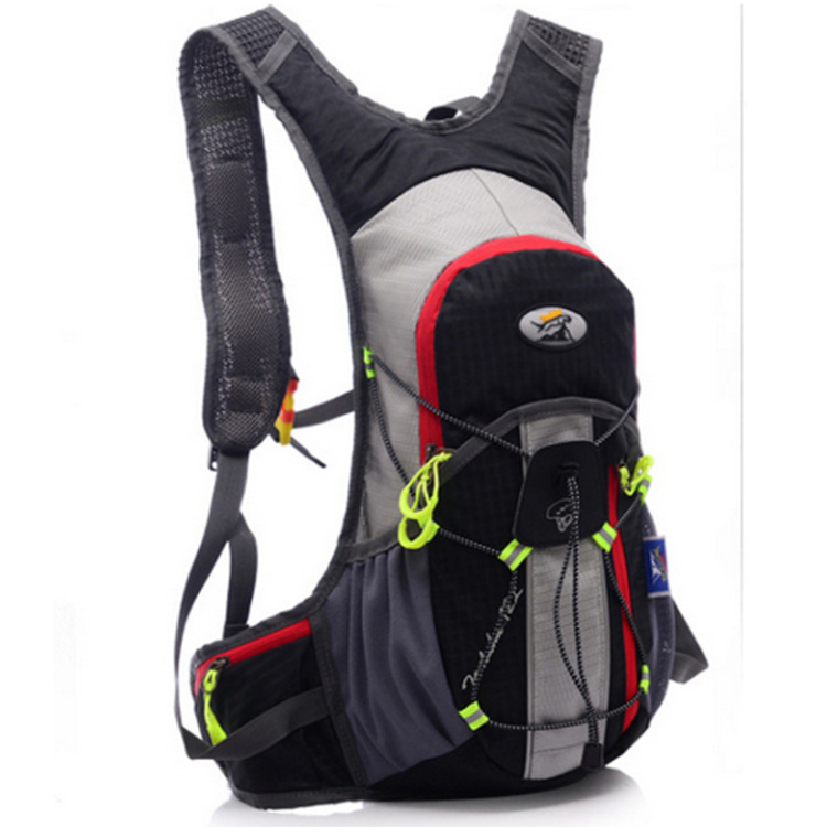 Free shipping   outdoor riding Outdoor sports tourism and leisure travel shoulder bag backpack black