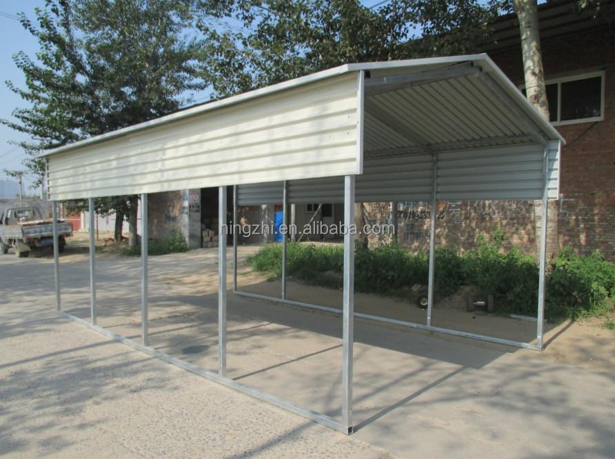 large steel carport canopy backyard shelter