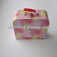 High quality red velvet gift packaging boxes