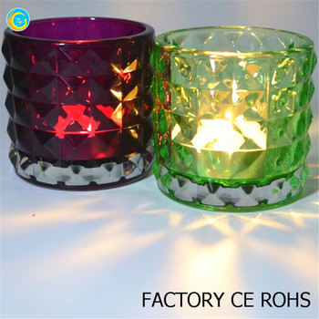 Decorative Glass Candle Holders.Factory Made Decorative Art Glass Votive Candle Holder For Wedding Pretty Cut Colors Crystal Glass Buy Multicolour Crystal Glass Candle Holders