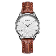 Longbo brand fashion japan movement diamond watches promotion hand watch for women