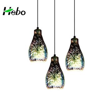 3d Fireworks Long Glass Pendant Lights Dinning Room Lamp - Buy Glass  Pendant,Dinning Room Light,3d Fireworks Lamp Product on Alibaba com