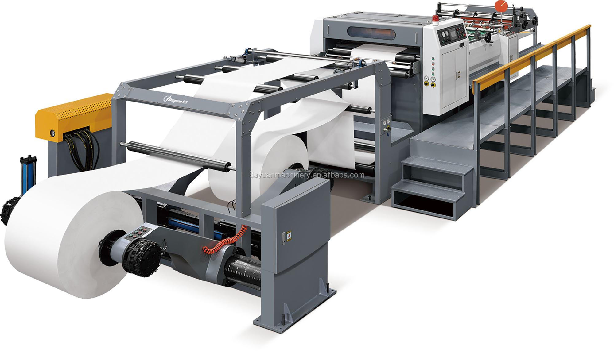 Toptan Rulo Kağıt Işleme Makinesi Kaliteli