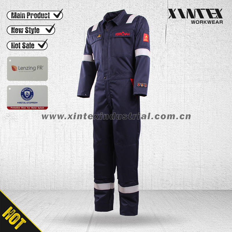 NORTH CAPE EN ISO 11612 Melton Metal Splash Protective Flame Retardant Workwear