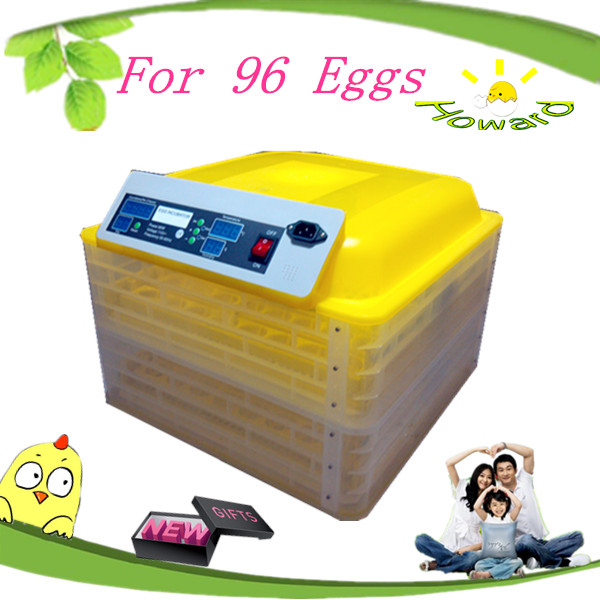Runing dual voltage mini automatic egg incubator for sale in tanzania/chicken egg incubator egg hatching machine CE approved