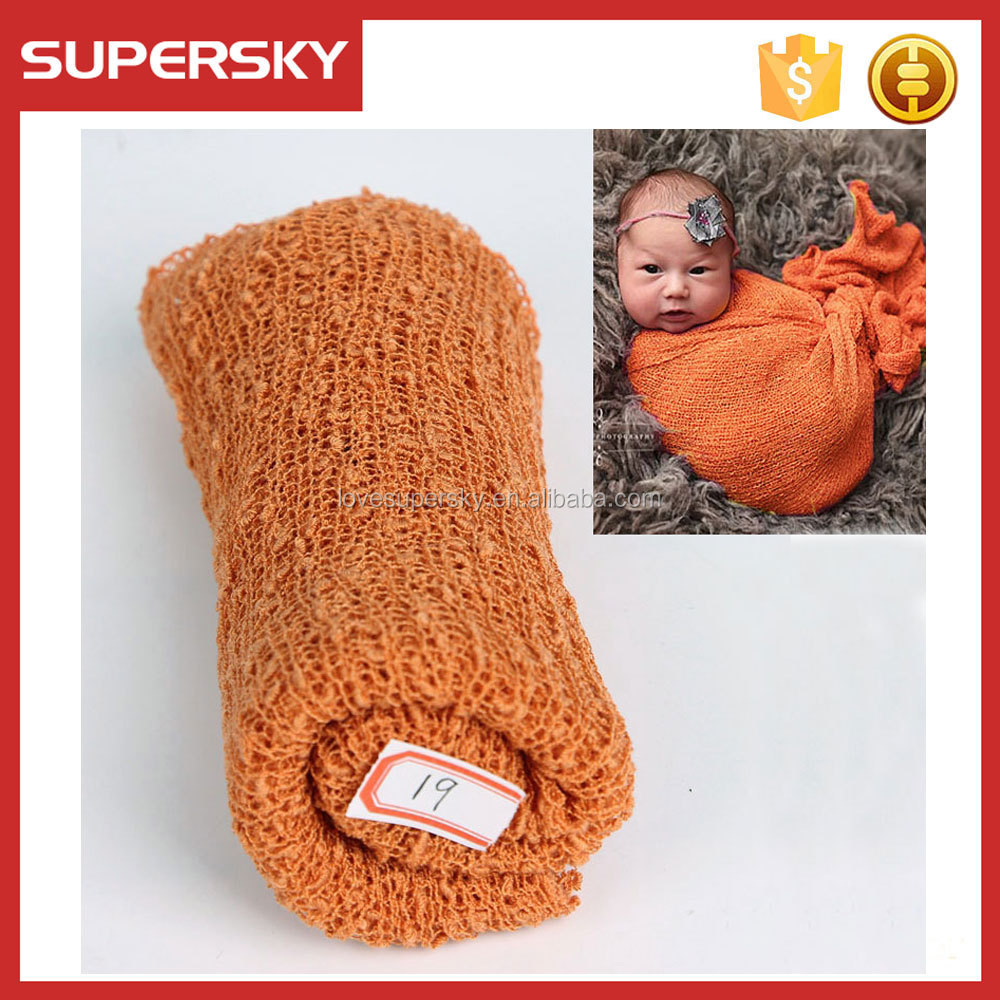 T7-5 DIY Newborn Photography Wrap BAby Photo Props Blanket Wrap
