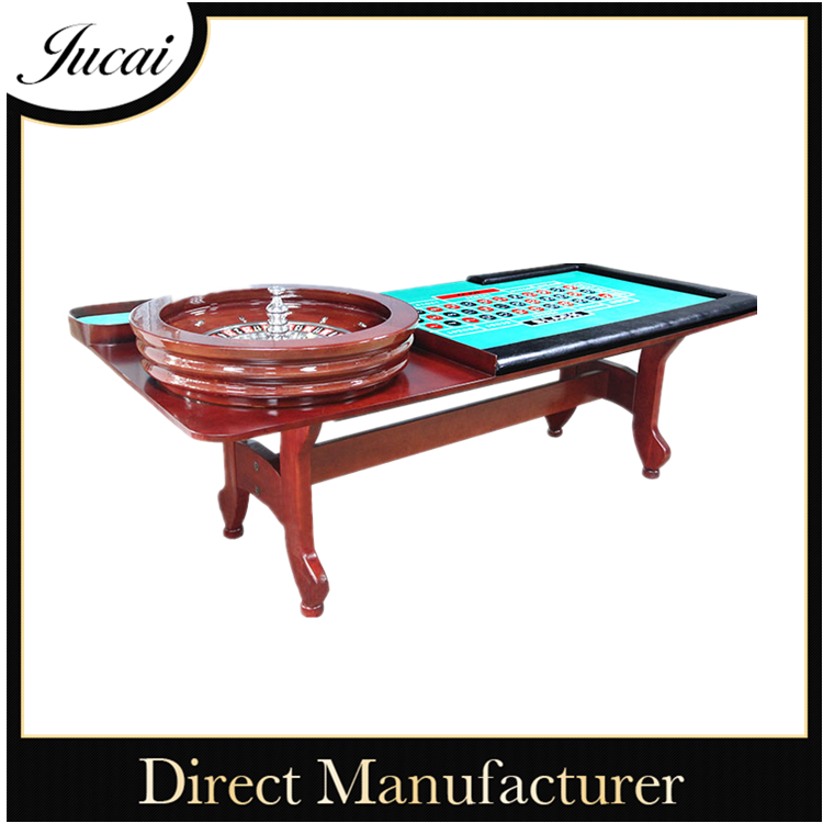 Hot sale casino quality roulette table with roulette wheel