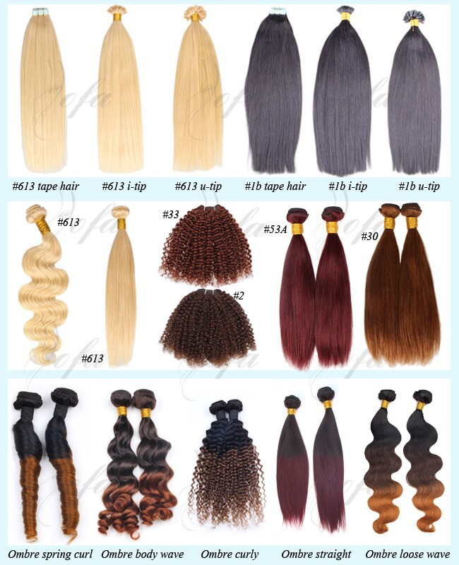 Track Hair Braid Snow White Remy Human Hair Extension Brazilian Bulk