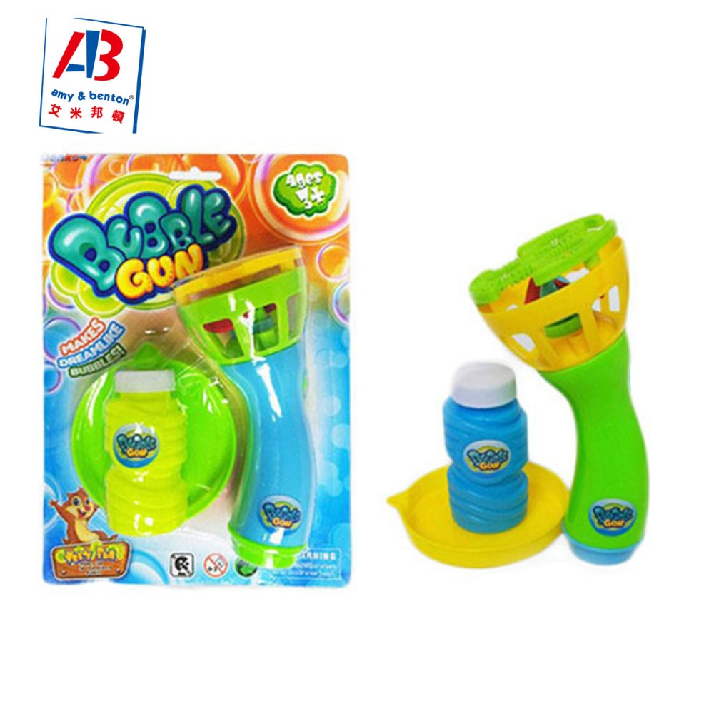 Top selling summer outdoor toys electric bubble gun with no battery