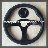 Brand New Racing PU foam material Steering Wheel 14 inch