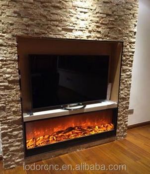 1800mm Remote Control Electric Fireplace Insert Heater