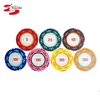 14g clay Casino Royal Clay poker chips