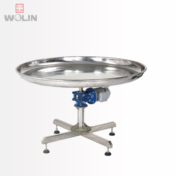 High rate Rotary catching table