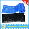 USB Silicone Roll up Flexable Foldable rubber keyboard covers