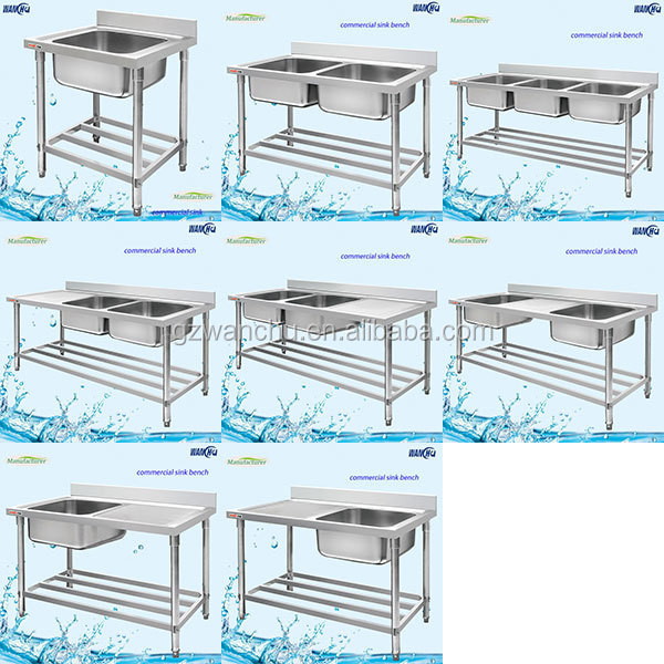 industrial kitchen sink stand kitchen stainless steel sink work table. beautiful ideas. Home Design Ideas