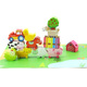 Wooden toy farm house For Children Baby Educational Toys Model Building Kits
