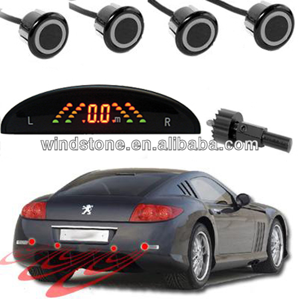 Support CANBus Rainbow LED Display Wireless Parking Assistant