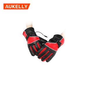 Motorcycle bicycle winter warm electric heating gloves fashion waterproof ski outdoor work horse riding gloves