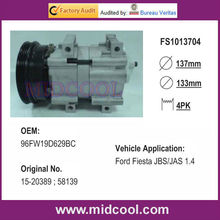 Auto Airco Compressor Voor Ford Fiesta <span class=keywords><strong>Jbs</strong></span>/Jas 1.4