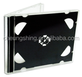 10mm personalized double gang cd case for ps plastic