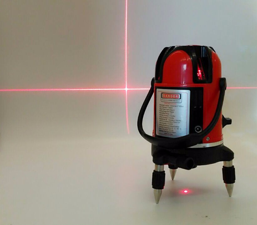 XEAST XE-50R Red Beam Laser Level 3d 360 machine